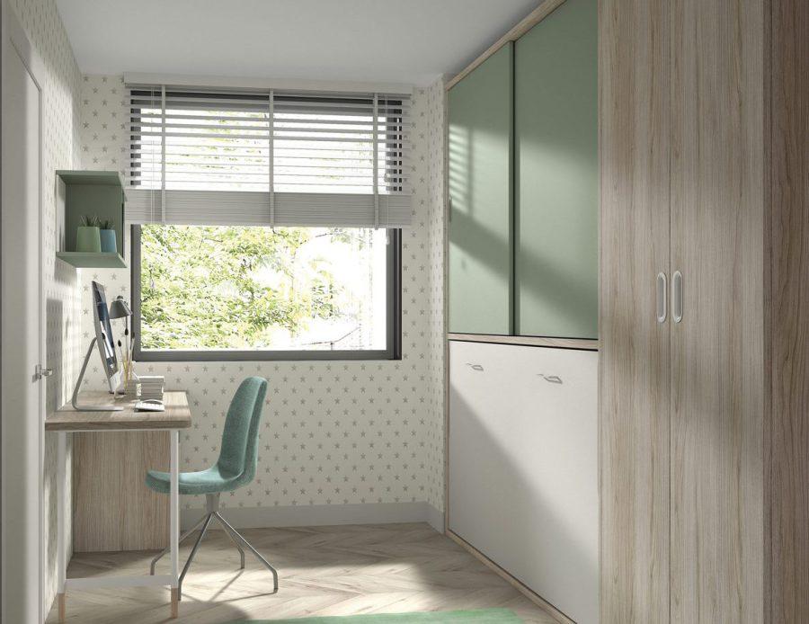 Camas abatibles de formas 15 en muebles amobel for Formas muebles juveniles