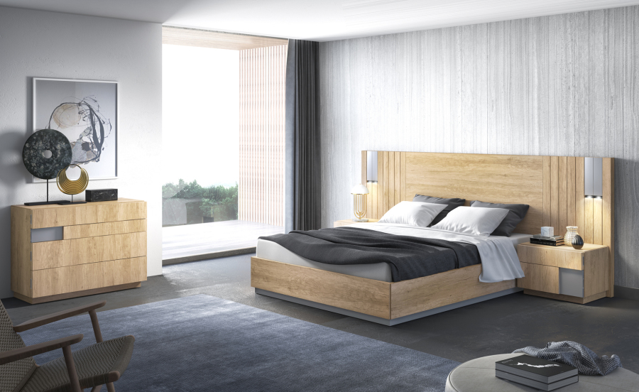 Dormitorio de matrimonio esenzia 2 0 amobel muebles madrid for Ejemplo de dormitorio deco